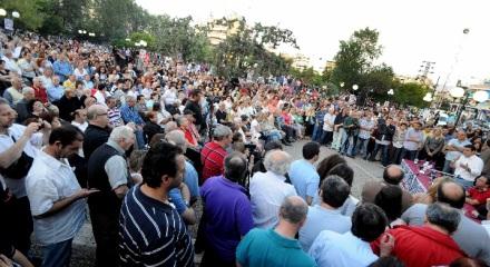 Μετεκλογική συνέλευση του ΣΥΡΙΖΑ στη Νίκαια